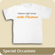 T-Shirts for a Special Occasion