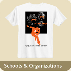T-Shirts for Schools or Organizations